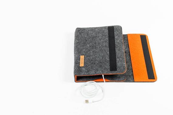 Stilvoller Organizer Für Tablets Bis 10 1 Ipad Samsung Case Individualisierbarer Organizer Filz Reiseorganizer Funktionale Tablethülle