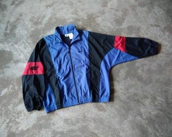 9a73e011e7f3 Vintage 90 s NIKE Windbreaker Streetstyle Sports Jacket