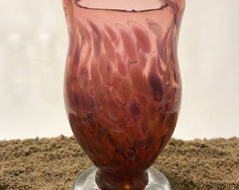 Hand Blown Glass Goblet