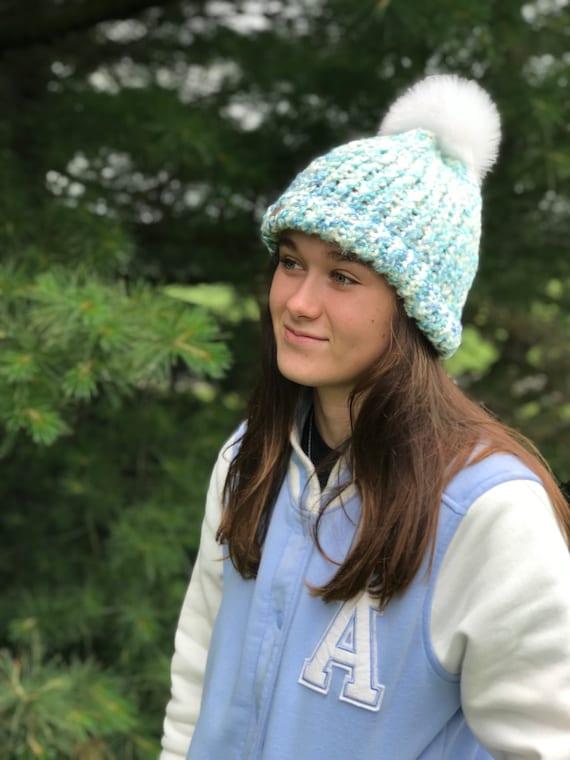 Flamingo Flower Warm Winter Hat Knit Beanie Skull Cap Cuff Beanie Hat Winter Hats for Men /& Women