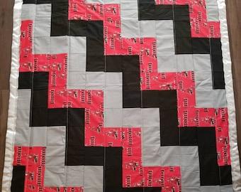 482cf7d5 Buccaneers blanket | Etsy