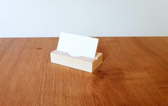 image 0 - Wooden Business Card Holder