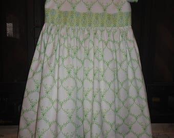 Girls spring dress