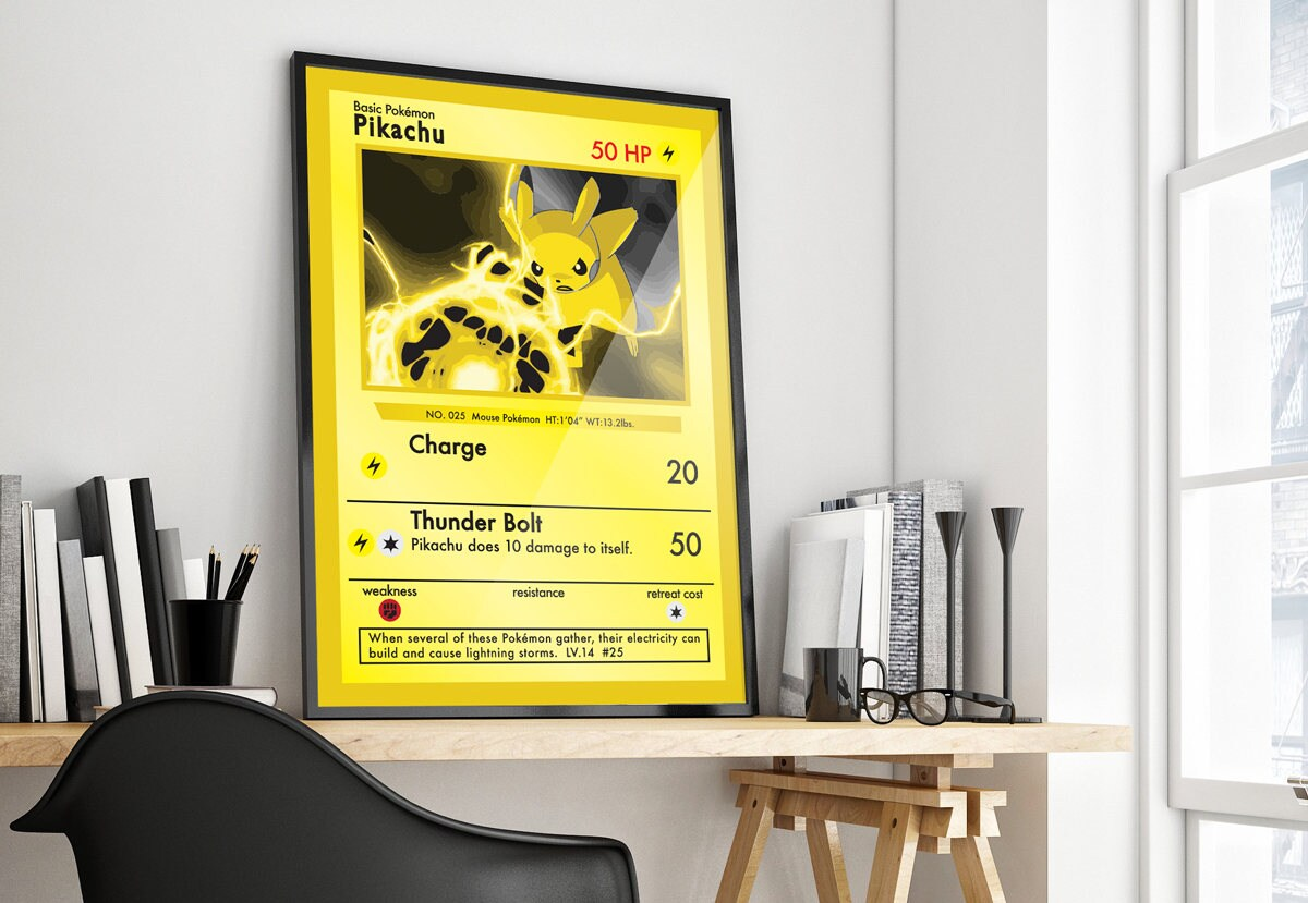 POKEMON Poster A0 - A2 ALL POKEMONS