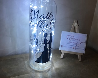 Wedding light up bottle