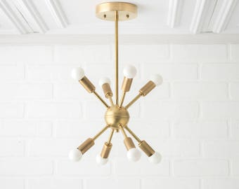 Mid Century Lighting Etsy