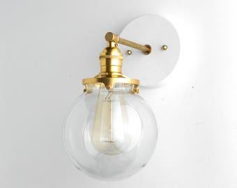 3 bulb light fixture oil rubbed bronze globe sconce bathroom light edison wall brass fixture lamp vanity lights lighting bulb lamps etsy