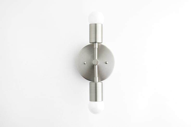 Model No Black White Light White Wall Sconce Midcentury Modern White Lighting 5550 Wall Sconce Mid Century Lighting