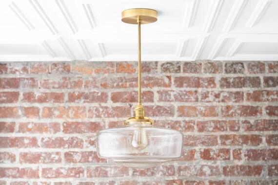 Schoolhouse Globe Pendant Light Edison Lighting Large Globe Pendant Kitchen Lighting Hanging Lamp