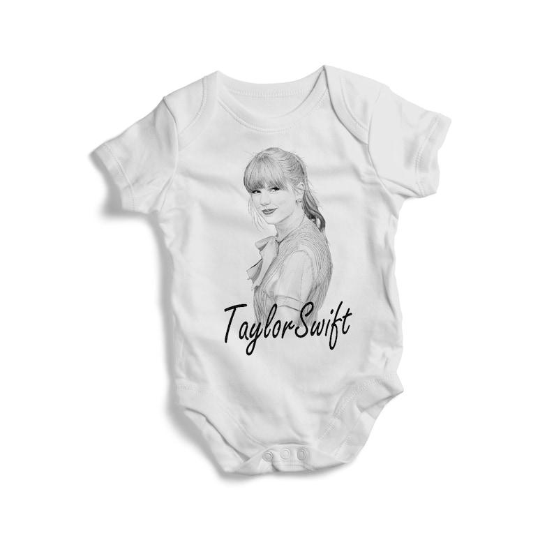 Stylish baby bodysuit music TAYLOR SWIFT on baby bodysuit colourful Toddler Tee  baby bodysuit tshirt bandana pullover bib baby shower gif