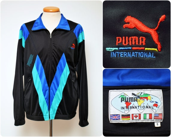 556203007d71 80s-90s Tracksuit Top Warm Up JACKET by PUMA   size mens XL