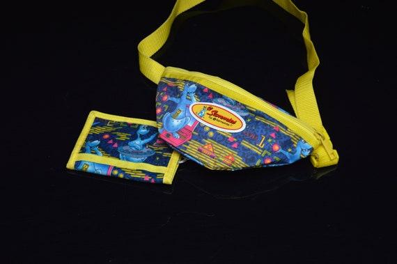 rad 80s/90s SAMSONITE 'Sammies' neon Bum Bag / Fan