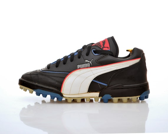 vintage PUMA astro turf Football Boots size US 7.5 rare OG 90s neon made in 1992