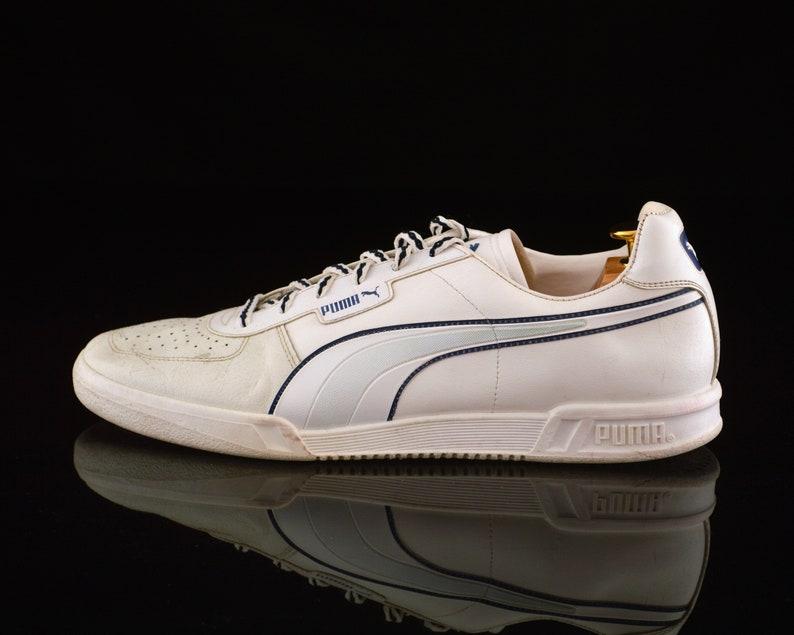 09ad24a0ef74 Vintage PUMA Trainers / Tennis shoes / size mens UK 12 / OG | Etsy