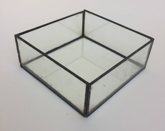 Terrarium/terrarium géométrique jardinière carré/terrarium/verre/verre florarium/tenture terrarium/terrarium géométrique/succulentes jardinière