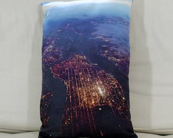 Cushion: New York/Manhattan by night