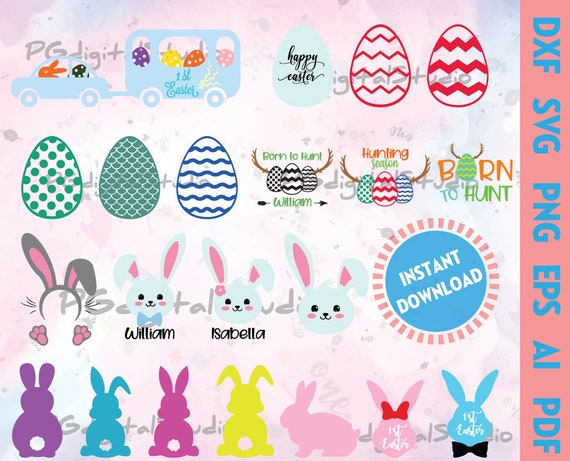 Cut File Cricut Silhouette Cross Svg Dxf Easter Day Png Bunny Svg Easter Egg Svg Easter Svg Spring Svg Happy Easter Svg Craft Supplies Tools Visual Arts