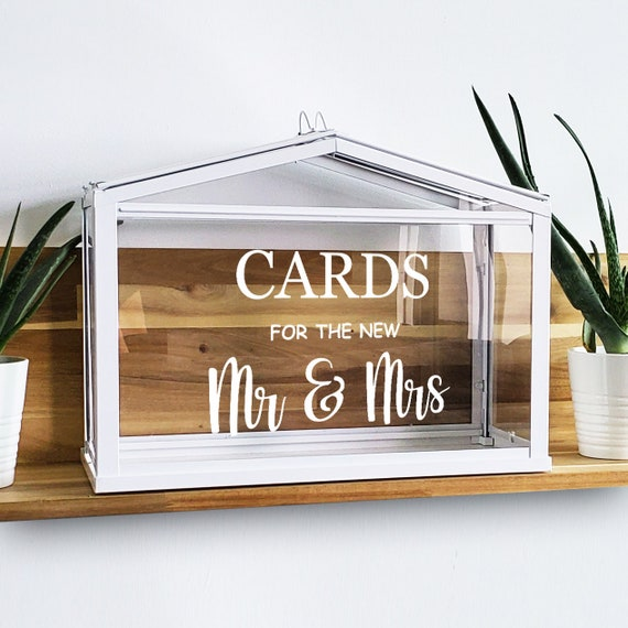IKEA Greenhouse Cards Cards Wedding Decal Cards Decal Wedding Sign Sticker