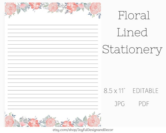Pink Floral Stationery, Printable Paper, Letter Paper, Instant Downloads, on easter bunny head template, letter crafts template, connect the dots template, letter envelopes template, letter boxes template, letter pad format, letter labels template, letter flowers template, love letter template, letter ornaments template, letter background templates, letter stamps template, logo with letter head template, from the office of stationary template, letter powerpoint template, letter on letterhead template, cute letter template, make a paper box template, letter stationary with lines, letter tiles template,