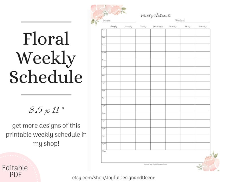 graphic relating to Day Planners identify Blank Weekly Planner Hourly Weekly Planner Hourly Timetable Working day Planners Blank Weekly Planner Undated Planners Weekly Timetable