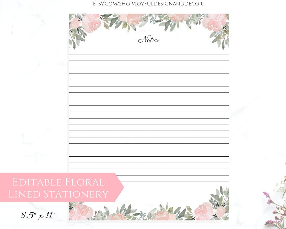 graphic about Printable Stationeries identified as Stationery Paper Printable