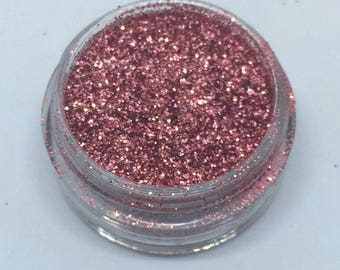 Light Pink Genuine Cosmetic Glitter 3g Pot Eyeshadow Face Nails Craft Card Making Fine Loose Glitter UK Seller