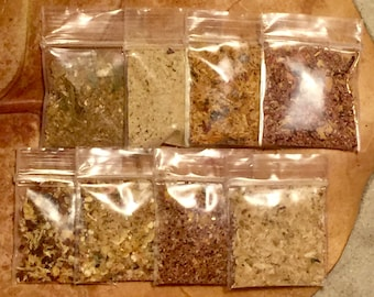 Sample Pack ~ Hermit Crab Food Mixes