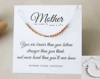 Mothers Day Gift O Mom Birthday Mother Bracelet With Birthstones Rose Gold Sterling Silver Secret Message For