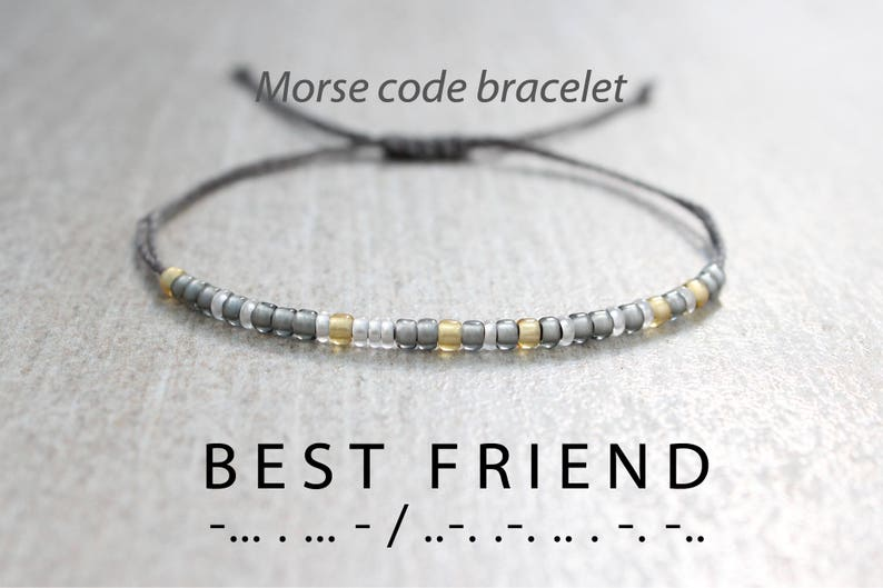 Best Friend Birthday Gift Friendship Bracelet Bff Frie