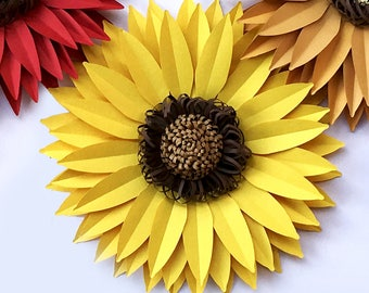8 inches dahlia svg and dxf paper flower template for cricut etsy diy paper sunflower svg and pdf digital 13 inches large backdrop paper flower template autumn decor party decor wedding backdrop decor mightylinksfo