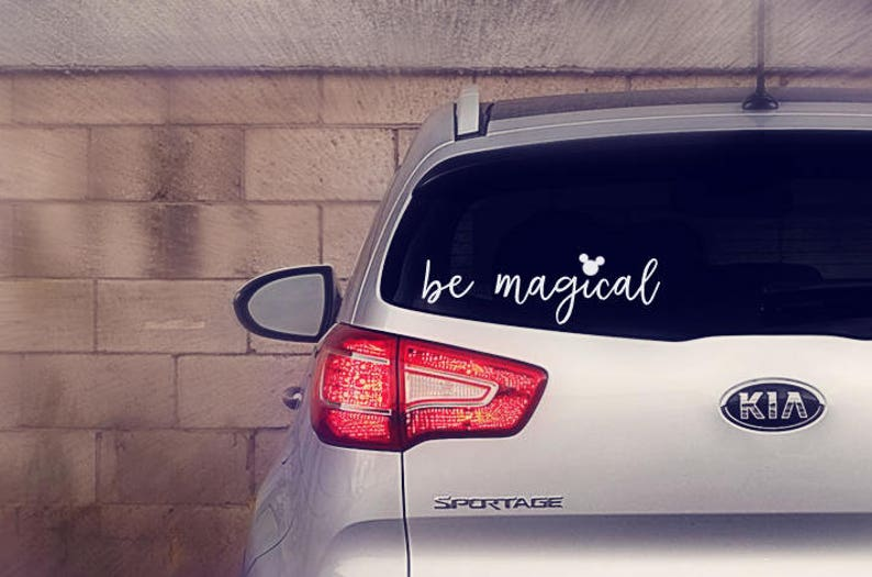 Be Magical Decal Be Magical Sticker THE ORIGINAL Disney image 0