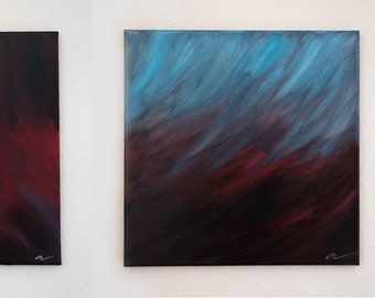 The Oncoming Storm (triptych)