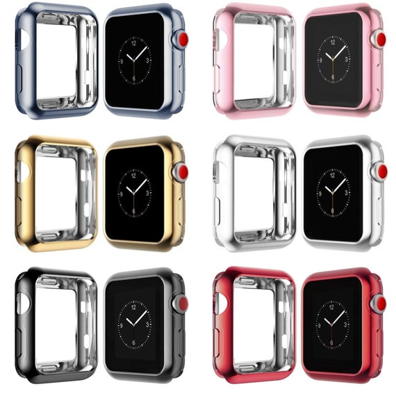 design senza tempo 6c4d7 36e02 Apple Watch Case, Apple Watch Case Cover 38mm, Apple Watch Cover 42mm,  Apple Watch Face, iWatch Case, Series 1, Series 2, Series 3