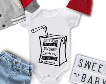 72ca277cc8a Rollin down the street  Baby Shower Gift  Baby Clothing  Baby Outfit  Baby  Bodysuit  Baby Girl Outfit Hip Hop bodysuit  Snoop Dog shirt