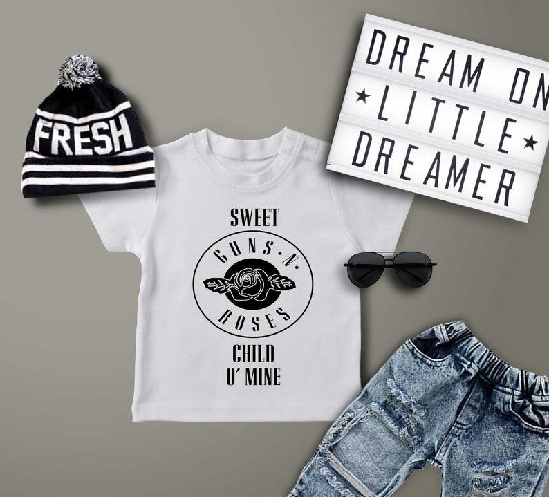 052ef72350f5 Sweet Child O' Mine/ Guns and Roses/ Toddler Tshirt/ Baby | Etsy