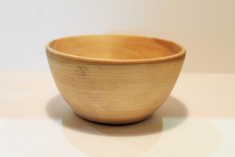 Tulip Poplar Bowl  Set of 4  5 12 x 2 34