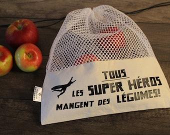 -Superhero - Hero bag reusable produce bag
