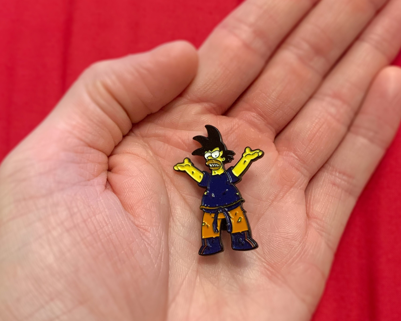 Dragon Ball Z mash up pin