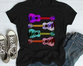 9f7b19e8 Ukulele Women's Short Sleeve T-shirt - Decorative Ukulele Shirt Gift - Ukulele  Shirt for women