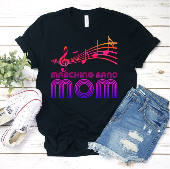 I am Marching Band mom Many Kind of Musician Awesome Gift Unisex Sweatshirt tee