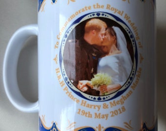 Prince Harry & Meghan Markle Royal Wedding 19th May 2018 -  wedding Day Mug