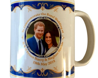 Prince Harry & Meghan Markle Royal Wedding 19th May 2018 -  Mug