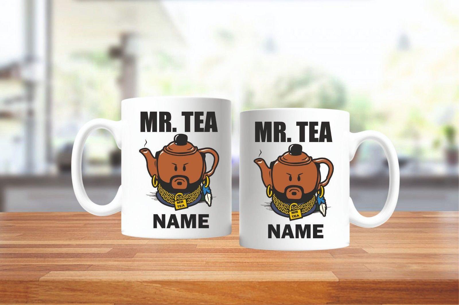 Personalised Mr. Tea Mug