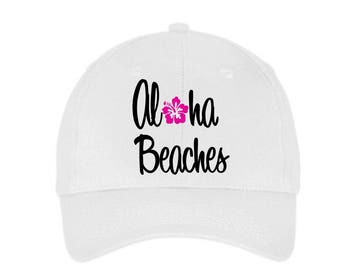 815c99b3fb3 Aloha beaches baseball cap