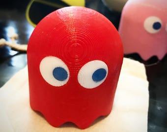Pac-Man Ghost Figure - Pacman - 3D Printed - 3D Print - Atari - Arcade - NES - Playstation - Retro - 8 bit - 8-bit