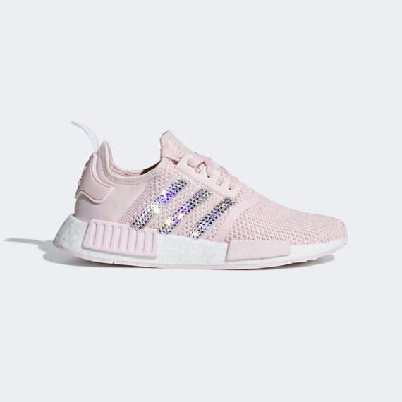 684478a1d Crystal Adidas NMD R1 Bling Shoes with Swarovski Crystals