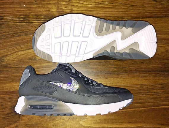crystal Nike Air Max 90 Ultra Bling Shoes with Swarovski  1133c1094eac