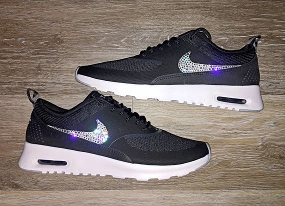 crystal Nike Air Max Thea Bling Shoes with Swarovski Crystal  fc1e812f8001