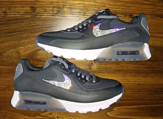 crystal Nike Air Max 90 Ultra Bling Shoes with Swarovski  a0f6379b8d63
