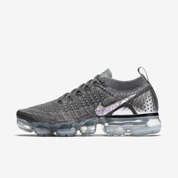 detailed look ef267 8dca3 crystal Nike Air VaporMax Flyknit 2 Bling Shoes with Swarovski   Etsy